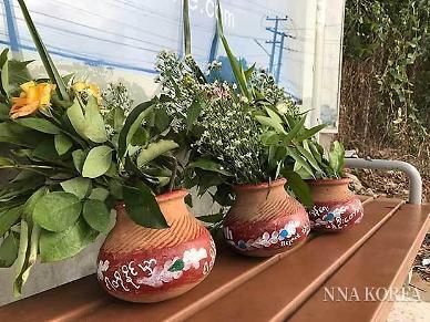 [NNA] 미얀마 띤잔 물 축제 시민들 보이콧... 희생자 추모 행진