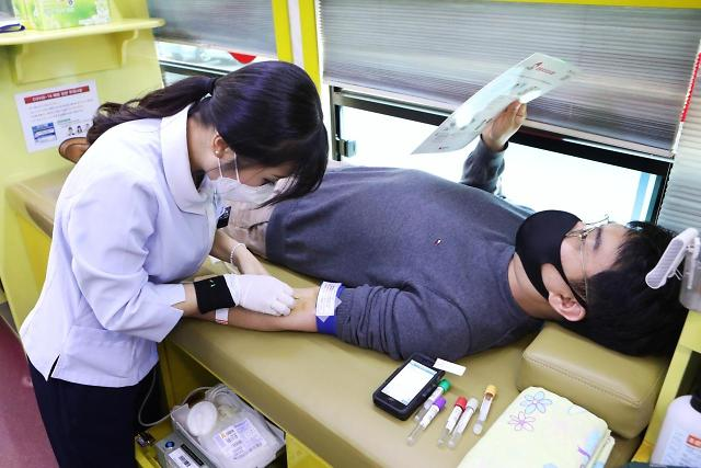 농심, 백혈병 소아암 환아 위해 단체 헌혈