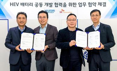 Hyundai auto group designs batteries in cooperation with SK Innovation