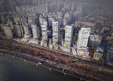 용산 산호아파트 최고 35층 647가구로 재건축