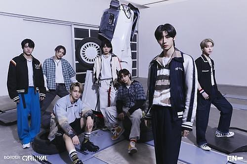 男团ENHYPEN新辑预售仅5天破40万张