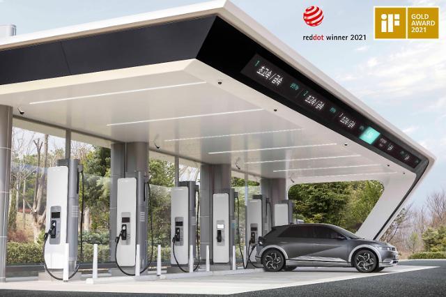 현대차·기아 전기차 초고속 충전기 '이피트', iF디자인 어워드 금상
