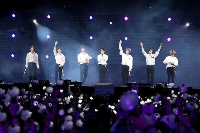 방탄소년단 온라인 콘서트 방방콘 동시 접속자 270만명 웃돌며 성료
