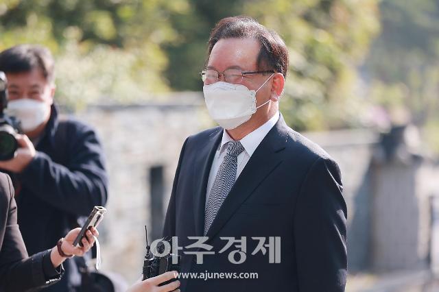 [포토] 미소보이는 김부겸 국무총리 후보자