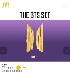 McDonalds chuẩn bị ra mắt BTS set menu trên gần 50 quốc gia…Bắt đầu bán ra ở Việt Nam từ 27/5