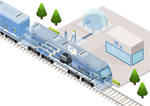 Railway research body embarks on development of locomotive based on liquefied hydrogen
