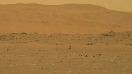 NASA lần đầu tiên cho bay thành công trực thăng trên sao Hỏa