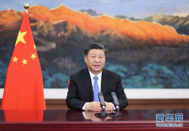 시진핑, 바이든 향한 작심 발언…줄타기 고민 드러낸 文