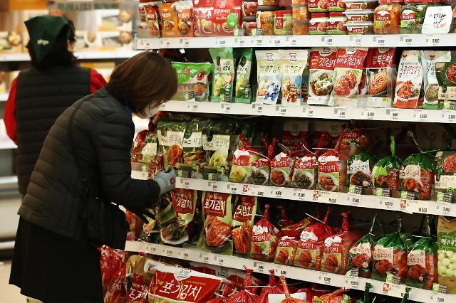 第一季度泡菜出口创新纪录 贸易收支11年来新高