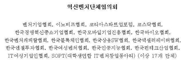 """벤처협단체 """"복수의결권주식제도 조속한 입법 촉구"""""""