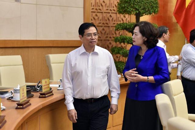팜민찐 총리, 첫 국무회의서 과도한 부동산 대출규모 지적