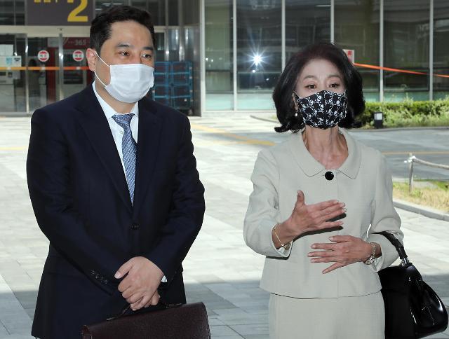 [포토] 재판 출석하는 배우 김부선