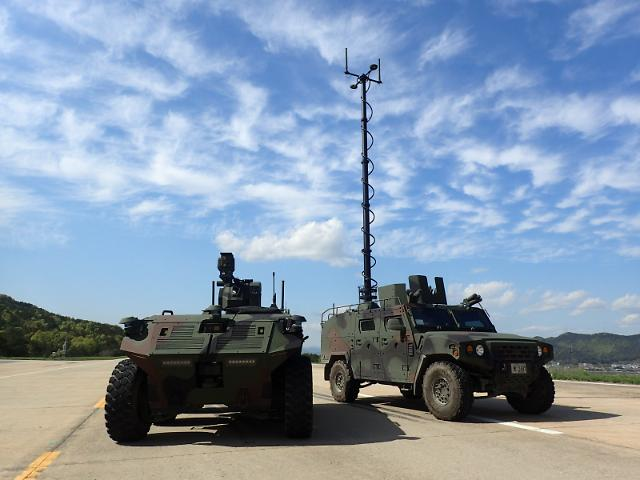 Exploratory development of unmanned surveillance vehicle for cavalry completed in S. Korea