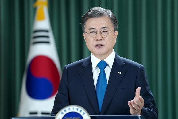 文在寅出席气候峰会 韩中美三国领导人首次线上会晤