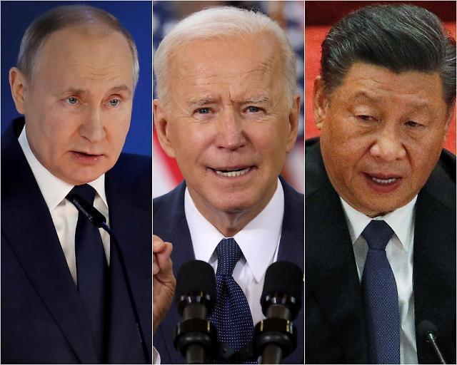 바이든·시진핑·푸틴 첫 화상대면…미vs중·러 기후정상회의서도 기싸움?