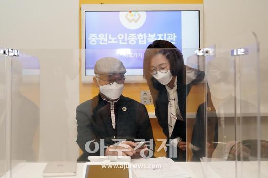 """은수미 성남시장, """"올해 경기도 최다 규모로 노인 일자리 사업 펼쳐"""""""