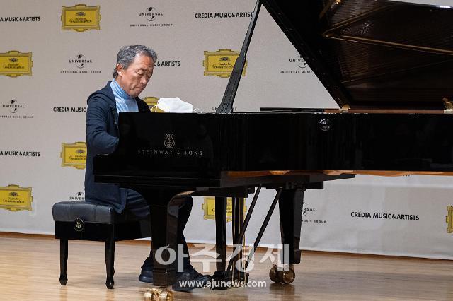 """피아니스트 정명훈 """"젊었을 때는 안 보였던 게 느껴지더라구요"""""""