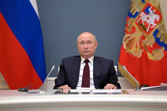 [포토] 기후정상회의 참석한 푸틴 러시아 대통령