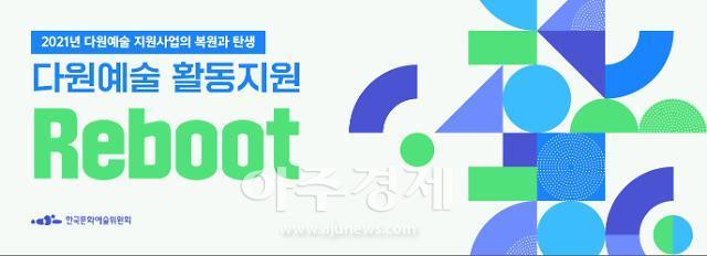 한국문화예술위원회, 2021 다원예술 활동지원 사업 공모 시작