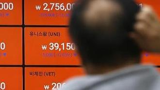[포토] 비트코인 5천만원대로 하락
