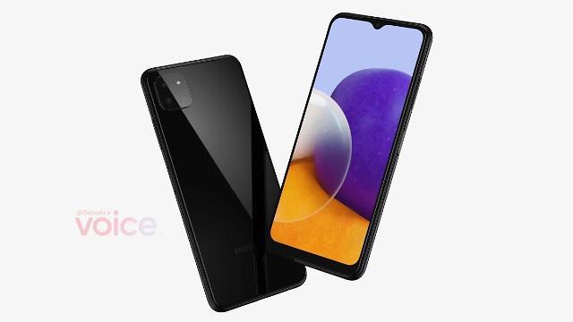 역대급 가격 5G 스마트폰 온다…갤럭시A22 렌더링 이미지 공개