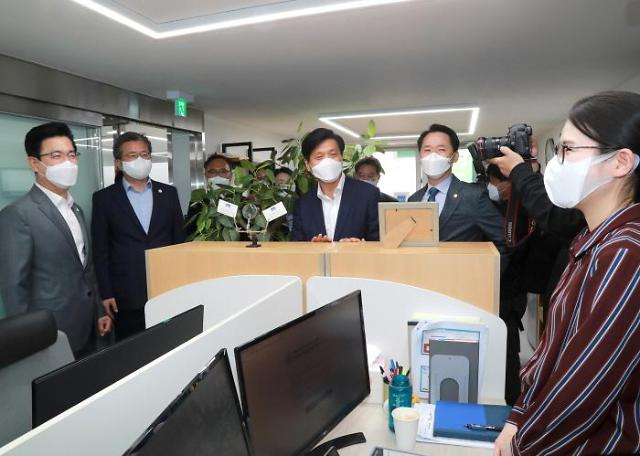 권중순 대전시의회 의장, '스타트업타운 개소식' 참석