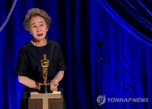 """정세균 """"윤여정 연기로 국격 드높였다""""···여야도 일제히 환영"""