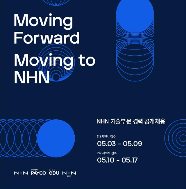 NHN, 클라우드·데이터분석·보안 등 기술부문 경력직 공채