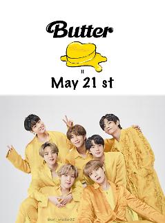 BTS chốt ngày comeback với single mang tên BUTTTER vào 21/5