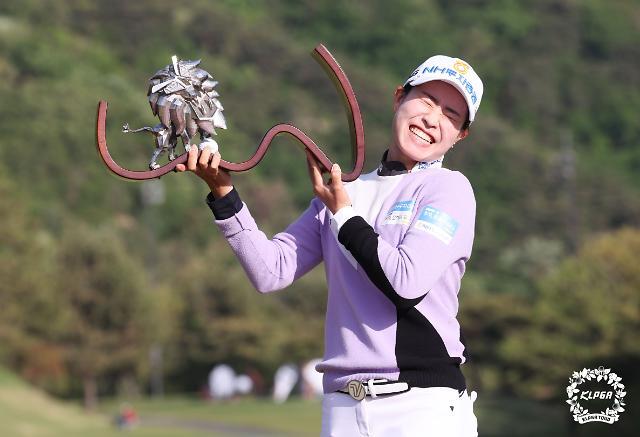 박민지, 여자골프 세계 순위 36위에