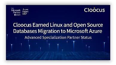 국내 최초 MS 클라우드 '리눅스 및 오픈소스 데이터베이스 마이그레이션' 자격획득, 기술 전문성 입증한 클루커스