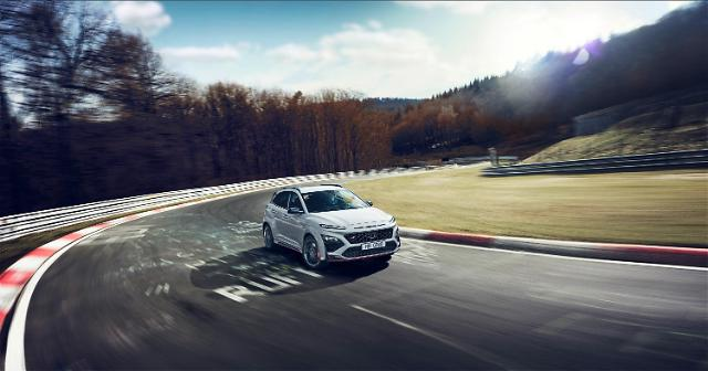 현대차, 제로백 5.5초 첫 고성능 SUV 코나 N 공개