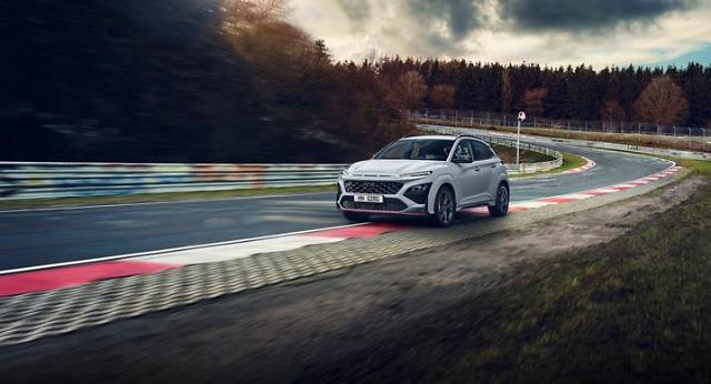Hyundai unveils high-performance SUV Kona N