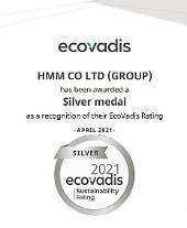 HMM、ESG経営グローバル評価機関で「シルバー」等級...国内では「A」