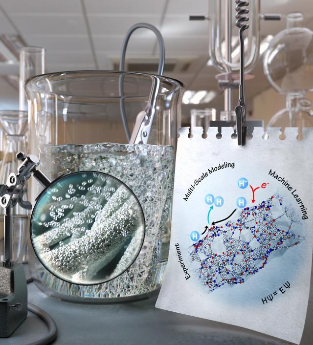 KAIST, 딥러닝으로 백금 촉매 수소 발생원리 규명