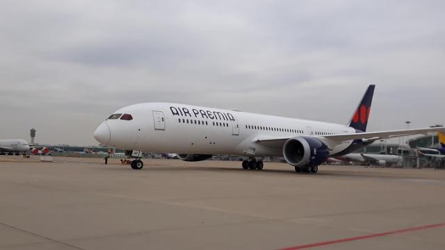 미쉐린, 에어 프레미아 보잉 787-9에 타이어 공급…NZG 기술 적용