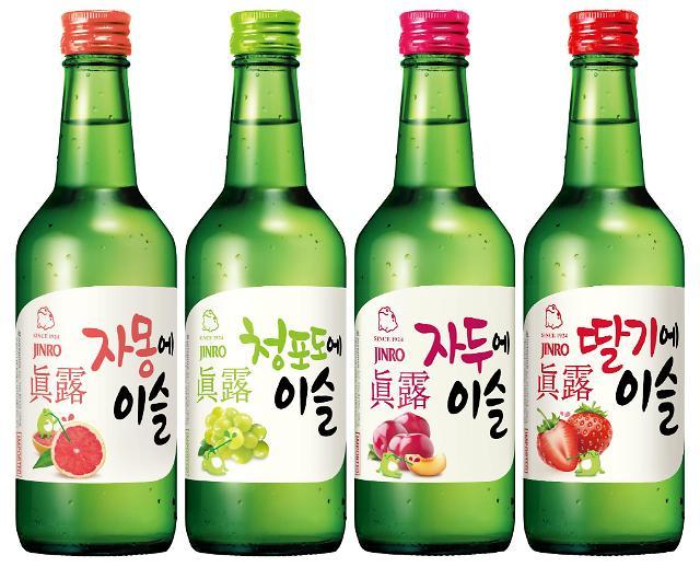 韩真露烧酒今年一季度对华出口增83.8%