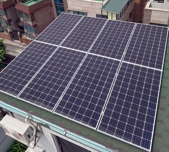 관악구, 1040가구에 태양광 미니발전소 설치비 지원