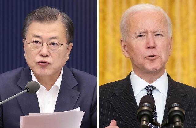 문재인 대통령, 내달 21일 미국서 바이든 대통령 만난다