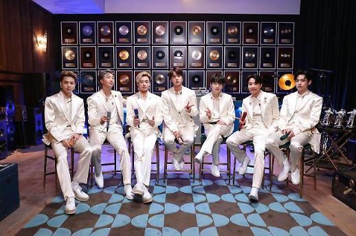 BTS获美国公告牌音乐奖四项提名