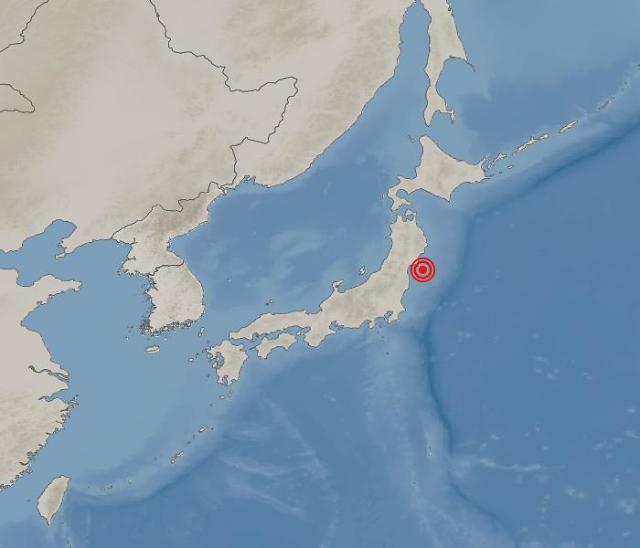 """일본 동북지방 규모 6.6 지진…""""국내 영향 없어"""""""