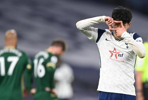 孙兴慜打入赛季第21球平个人最高纪录