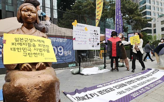 """北, 위안부 2차 소송 각하 비판 """"양심 외면한 행위"""""""
