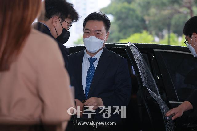 [포토] 출근하는 김오수 검찰총장 후보자