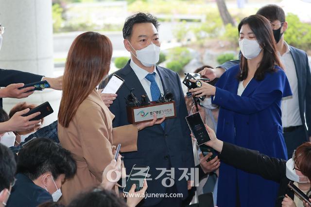 """[포토] 김오수, """"조직 안정이 중요…신뢰받는 검찰 되겠다"""""""