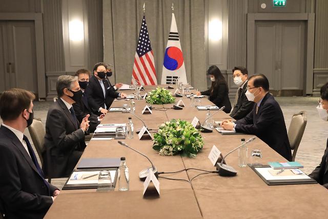 """한미일 외교장관 5일 런던서 만난다…""""대북정책 논의 전망"""""""