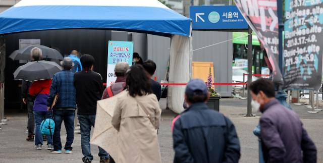 韩国新增676例新冠确诊病例 累计124945例