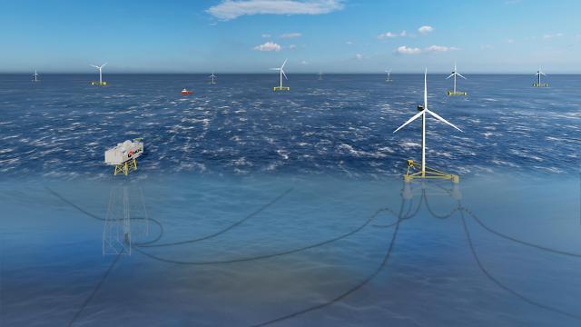 석유공사, 동해 부유식 해상풍력사업 예비 타탕성 조사 통과