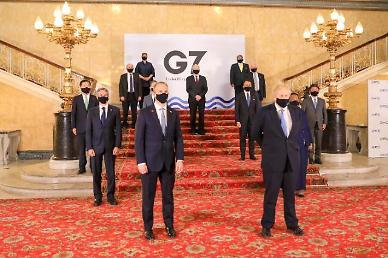 G7 외교·개발장관회의 참석한 정의용...공평한 백신 접근 촉구
