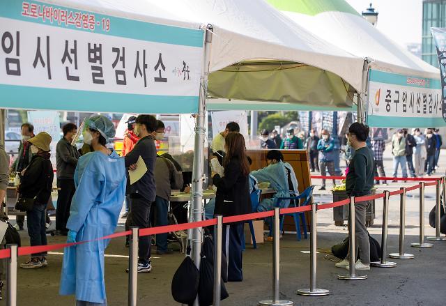 [상보] [코로나19] 신규 확진자 574명…수도권서 391명 발생
